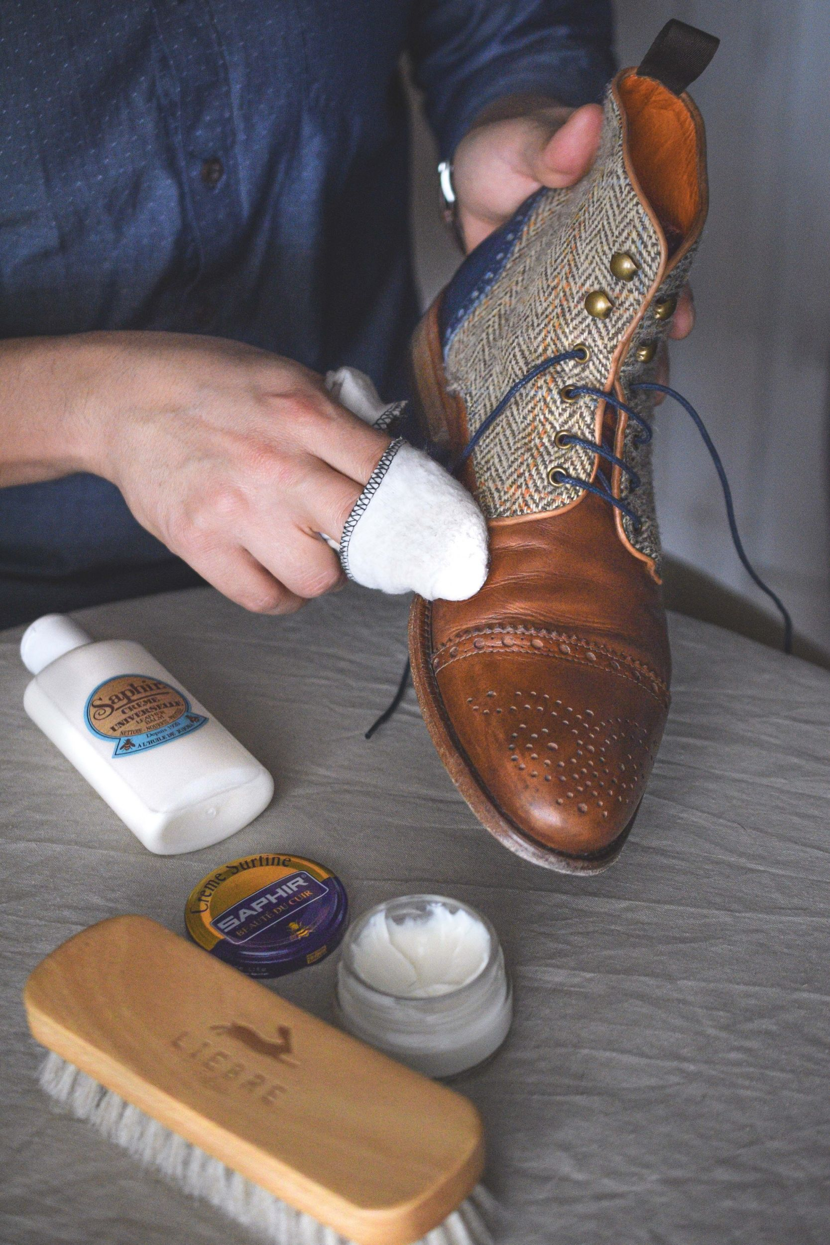 caring for the leather in brown leather shoes by liebre style