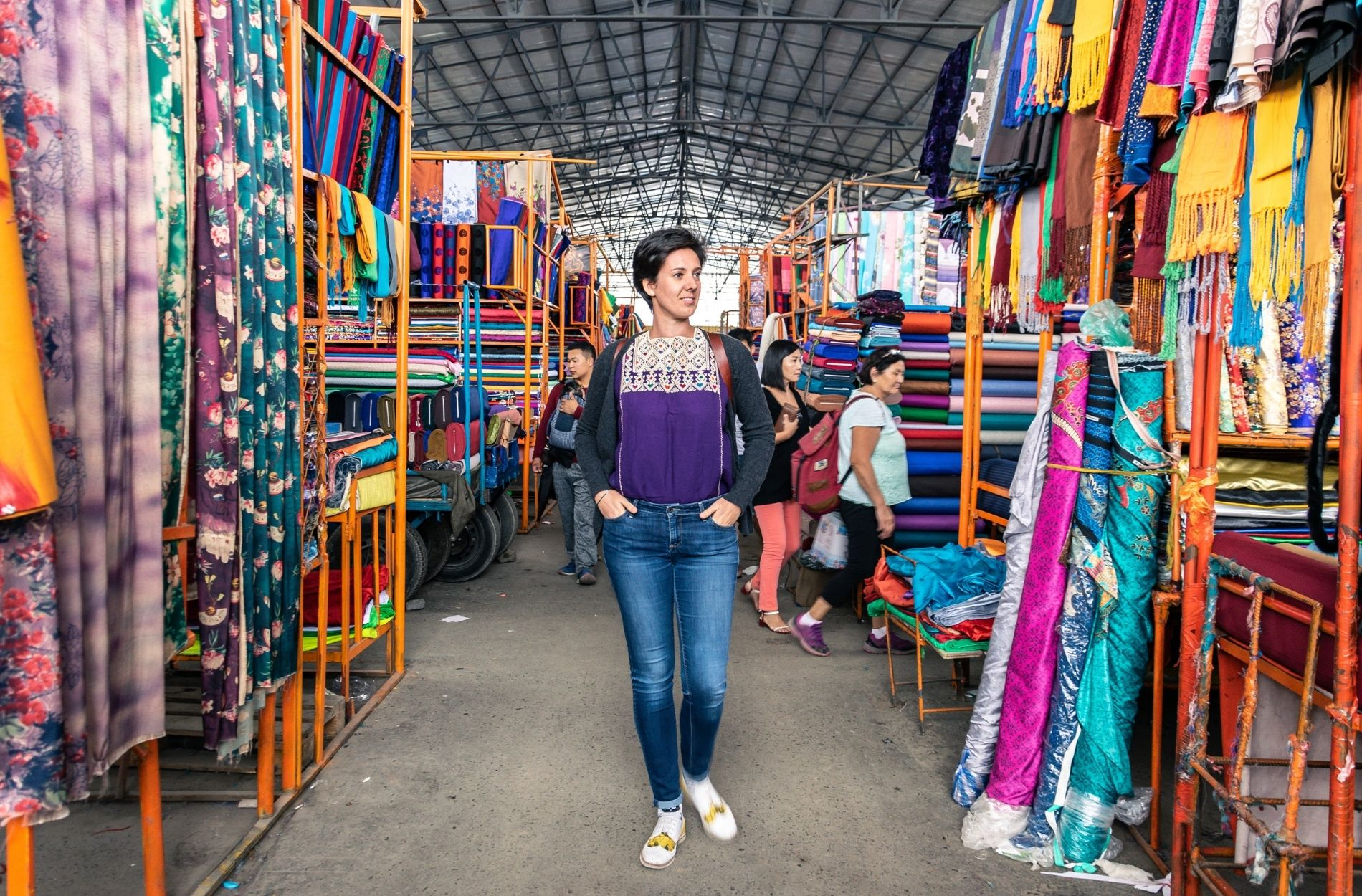textile hunting in mongolia with elena the founder of liebre style