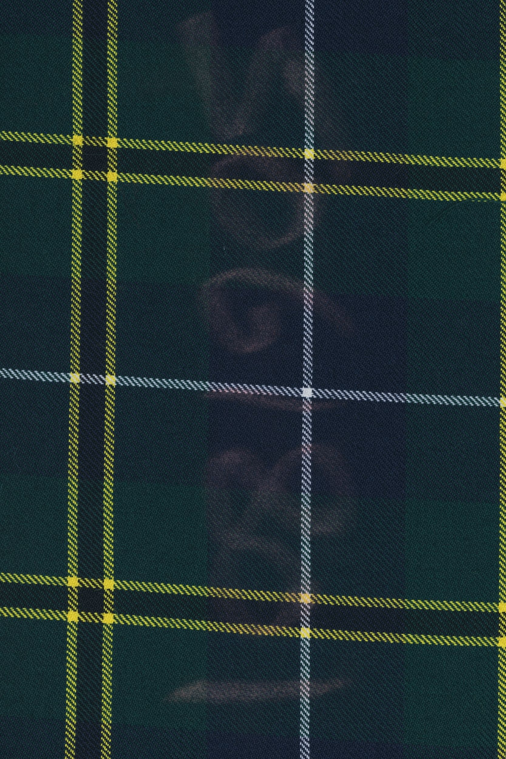 tartan from scotland used in liebre style boots and oxford limited edition designs